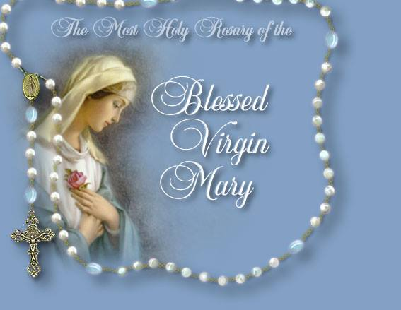 HOLY ROSARY OF VIRGIN MARY