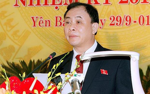 Pham Huy Cuong Bi thư tinh uy Yen Bái